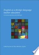 English as a foreign language teacher education