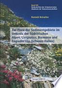 Zur Flora der Sedimentgebiete im Umkreis der S  dr  tischen Alpen  Livignasco  Bormiese und Engiadin   Ota  Schweiz Italien