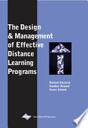 The Design And Management Of Effective Distance Learning Programs book