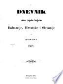 Dnevnik sabora trojedne Kraljevine Dalmacije, Hrvatske i Slavonije