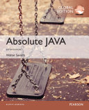 Absolute Java  Global Edition