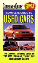 2003 Complete Guide to Used Cars
