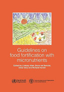 Guidelines on Food Fortification with Micronutrients
