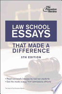 Law School Essays That Made A Difference 5th Edition