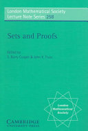 Sets and Proofs