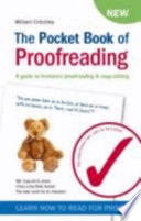 The Pocket Book of Proofreading
