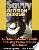 Savvy Decision Making Book PDF