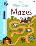 Wipe-Clean Mazes