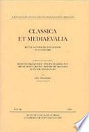 Classica et Mediaevalia vol.49