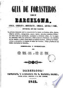 Guia de forasteros en Barcelona