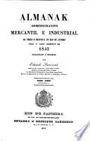 Almanak administrativo, mercantil e industrial da corte e provincia do Rio de Janeiro, e indicador para...