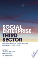 Social Enterprise and the Third Sector