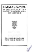 The Novels of Jane Austen  Emma