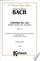 Cantata No  124    Meinen Jesum lass  ich nicht