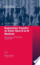 Reputation Transfer to Enter New B to B Markets