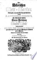 Historische Welt-Cart, Das ist: Ordentliche Beschreibung der vier grössesten Reich der Welt