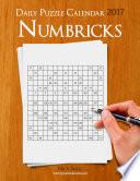 Daily Numbricks Puzzle Calendar 2017