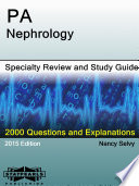 PA-Nephrology Specialty Review and Study Guide