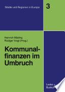 Kommunalfinanzen im Umbruch