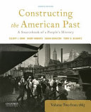 Constructing The American Past