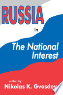Russia in the National Interest