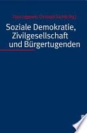 Soziale Demokratie, Zivilgesellschaft und Bürgertugenden