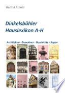 Dinkelsbühler Hauslexikon A-H