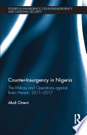 Counter Insurgency In Nigeria