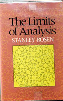 Limits Of Analysis