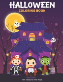 Halloween Coloring Books For Toddlers And Kids Ages 4 8