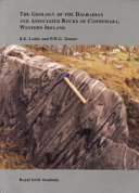 The geology of the Dalradian and associated rocks of Connemara  western Ireland