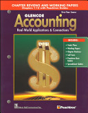 Glencoe Accounting  Chapters 1 13  Working Papers