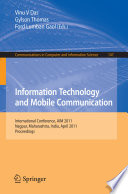 Information Technology and Mobile Communication