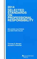 Selected Standards on Professional Responsibility 2014
