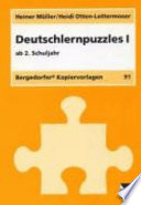 Deutschlernpuzzles