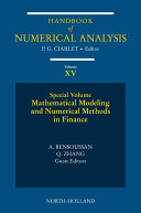 Mathematical Modeling and Numerical Methods in Finance