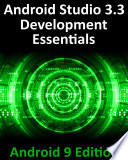 Android Studio 3 3 Development Essentials Android 9 Edition