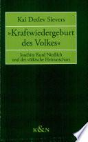 """""""Kraftwiedergeburt des Volkes"""""""