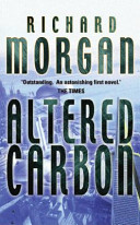 Altered Carbon Book Cover