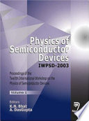 Physics of Semiconductor Devices Iwpsd 2003