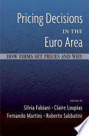 pricing decisions in the euro area
