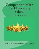 Competition Math for Elementary School