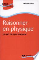 illustration du livre Raisonner en physique