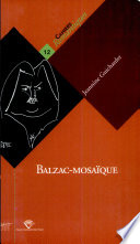 Balzac-mosaïque D Une Trentaine D Annees ; Il Propose
