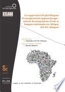 Les approches bi plurilingues d enseignement apprentissage  autour du programme   coles et langues nationales en Afrique  ELAN Afrique