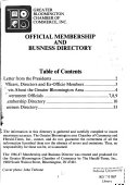 Membership and Business Directory