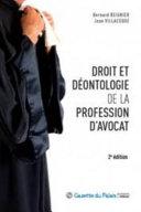 Droit Et D Ontologie De La Profession D Avocat