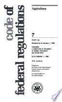 Code of Federal Regulations Book PDF
