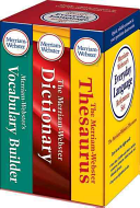 Merriam Webster s Everyday Language Reference Set