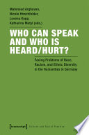 Book Who Can Speak and Who Is Heard Hurt